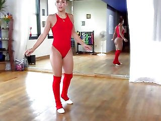 Attractive Phat Butt Ballerina Abella Danger Gets Bunged