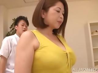Chubby Asian Babe S Big Tits Natsuko Kayama