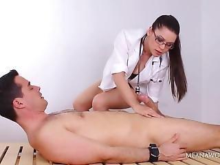 Cruel Doctor Tease Her Patient