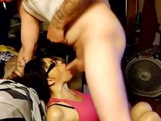 Asian Getting Face Fucked And Cum In Throat
