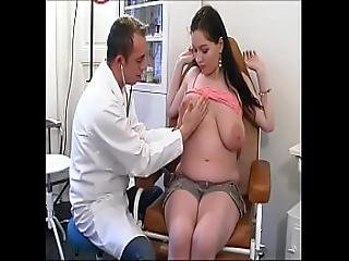 Perverse Gynaecologist Tastes The Patient S Pussy
