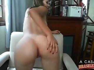 braziliaans, hoet, masturbatie, webcam