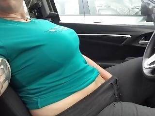 Quick Orgasm In The Grocery Store Parking Lot