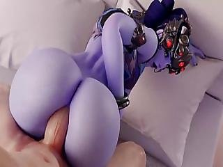 Widowmaker The Anal Queen - Ass Fucked Compilation All New Scenes 2018 With Sound