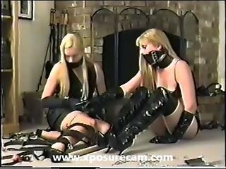 bundløse strømper strapon mistress