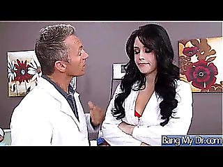 Fantastic Sex Betwixt Doctor And Naughty Sexually Excited Patient Threatening(noelle Easton)menacing Movie-24