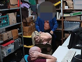 Experienced Cock Of Officer Plays With Virginpussy