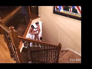 Voyeur Husband Watches Wife With The Neighbors Boy - Part 1