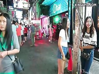 Pattaya Street Hookers And Thai Girls