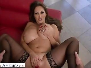 Brazzers - Thicc Busty Milf Ava Addams Stepmom Fucks Bbc Stepson
