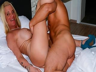 Amateureuro - German Granny Hiltrude Has Sex With Young Guy