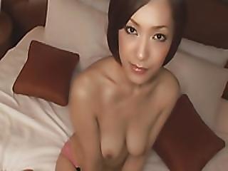 Hot Asian Slut Gets Fucked Hard On The Bed