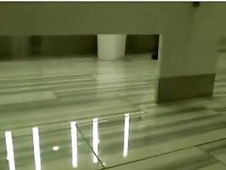 Public Rest Room Webcam Almost Caught(thanks For Recording Mr.blue)