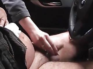 pipe, voiture, flasher, allemande, extérieur, publique
