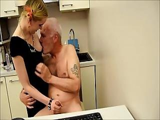 Ulf Larsen Caught Wanking And Punished