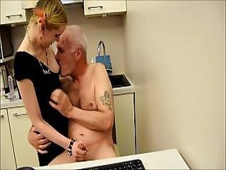 Ulf Larsen Caught Wanking And Punished