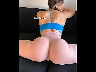 Instagram Model @yaelaheart Compilation - Booty + Fitness + Fashion