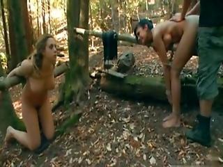Anal, Bondage, Forest