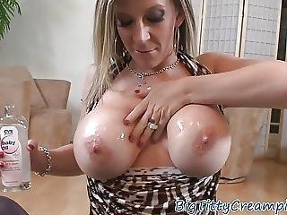 Tittyfucked Milf Beauty Sucks Cock In Pov