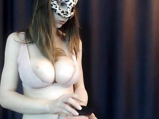 Webcam - Short Clip Of A Beautiful Busty Young Teen