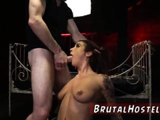 Hardcore Anal Brutal And Gagging First Time Excited