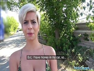 Public Agent Busty Crazy Milf In Hot Sloppy Blowjob