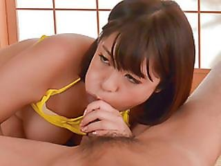 Mom In Heats, Wakaba Onoue, Loves Sucking On A Juicy Dick
