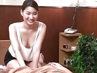 Japanese Braless Massage