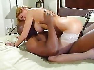 Huge Black Cock And Hot Blonde