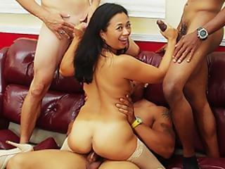 MILF skupinový sex filmy