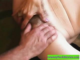 Old Hairy Whore Gets Fucked
