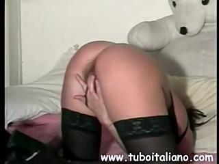 Italian Blonde Amateur Wife Moglie Amatoriale