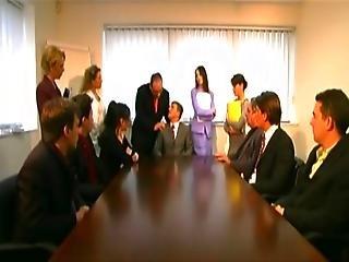 Secretaries Pleasing Boss