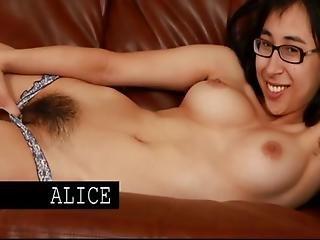 Asian Nerd Hairy