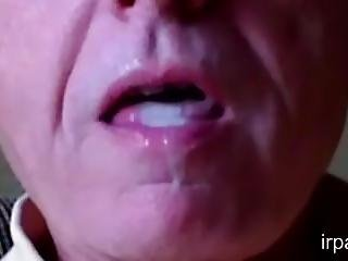 Close Up Cum Swallow 4.5
