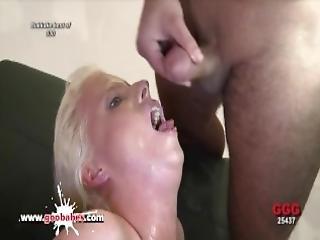 blondine, blasen, bukakke, zusammenfassung, sperma, sperma verschmiert, ladung, ins gesicht, gangbang, deutsch, harter porno, milf, Jugendliche
