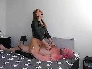 Leather Fetish Bdsm Sex Session -dirty Julia