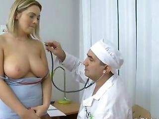 Busty Teen Violated By The Perv Doc