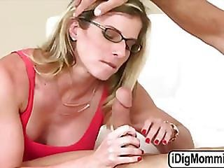 Pretty Lily Rader Share One Huge Cock With Milf Cory Chase