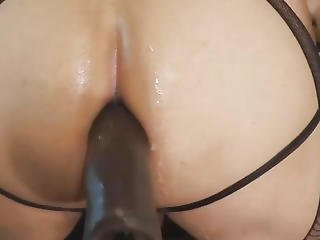 Large And Thick Sex Toy Play