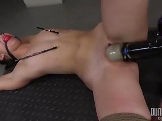 Split Legs Alaina Kristar - Dungeoncorp Bdsm - Training The Slut 4