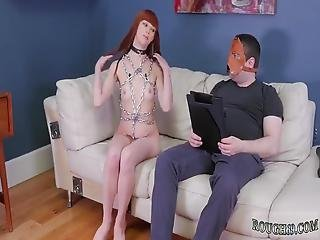 Strapon Punishment Threesome First Time Then He Blew His Stream All Over