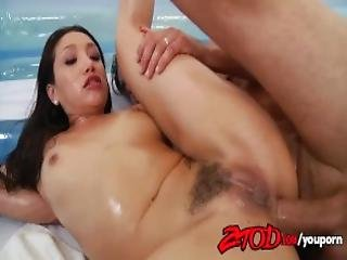 Asian Babe Vicki Chase Gets Drilled In The Ass