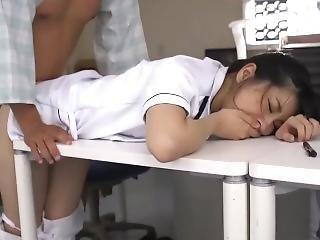 Having Fun With Japanese Nurse