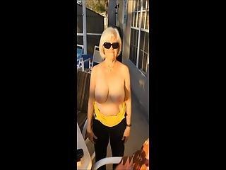 Pretty Wife's Outdoor Vacation Dare