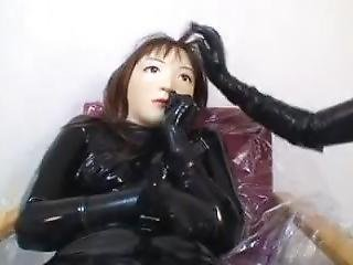 Dlrrs-009 Japanese Latex Doll Breathplay Vibrated