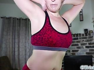 blondynka, femdom, fetysz