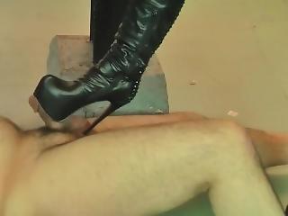Girl Femdom Boots