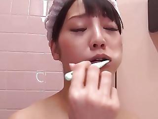 Oral Hygiene In Toilet