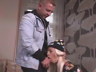 Bitches Abroad - Blonde French Tourist Gets Cum In Mouth Splurge And Fucks
